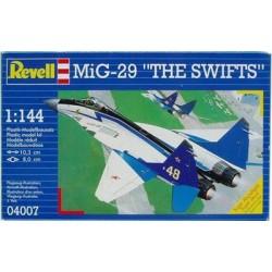 "Revell - 04007 - Model do Sklejania - Skala 1:144 - Samolot Radziecki - MiG-29 ""THE SWIFTS"""