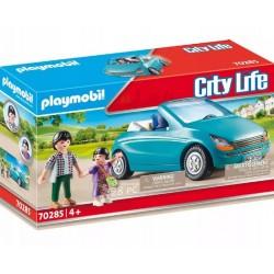 PLAYMOBIL City Life 70285 TATA I DZIECKO W KABRIOLECIE