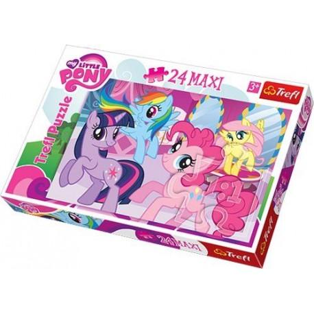 Trefl - 14182 - Puzzle 24 Maxi - Przyjaźń To Magia My Little Pony