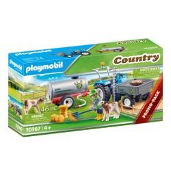 PLAYMOBIL 70367 Country TRAKTOR ZE ZBIORNIKIEM NA WODĘ