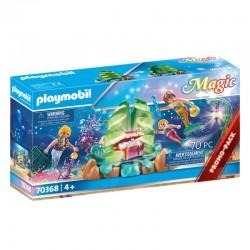 PLAYMOBIL 70368 Magic KORALOWY SALON SYRENEK