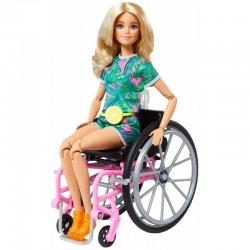 MATTEL Lalka Barbie Fashionistas Nr 165 BARBIE NA WÓZKU INWALIDZKIM GRB93