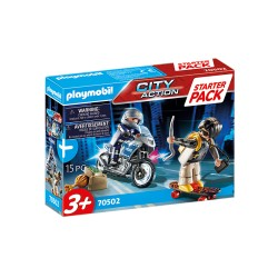 PLAYMOBIL City Action 70502 Starter Pack POLICJA Zestaw Dodatkowy