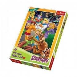 Trefl - 14181 - Puzzle 24 Maxi - Scooby-Doo Wesołe Miasteczko