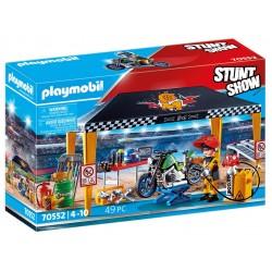 PLAYMOBIL 70552 STUNTSHOW Namiot Serwisowy