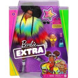 MATTEL Lalka Barbie Extra z Akcesoriami + Pudel GRV04