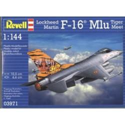 Revell - 03971 - Model do Sklejania - Skala 1:144 - Samolot Amerykański - F16 Mlu TIGER MEET