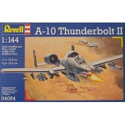 Revell - 04054 - Model do Sklejania - Skala 1:144 - Samolot Amerykański - A-10 THUNDERBOLT II