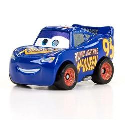 Mattel CARS Samochodziki Mini Autka WSPANIAŁY ZYGZAK MCQUEEN Niebieski GLD65