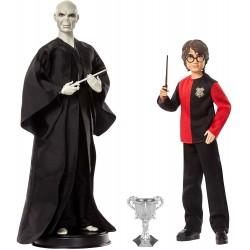 Mattel HARRY POTTER Zestaw Lalek Lord Voldemort i Harry Potter GNR38