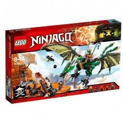 LEGO NINJAGO 70593 Zielony Smok NRG NOWOŚĆ 2016