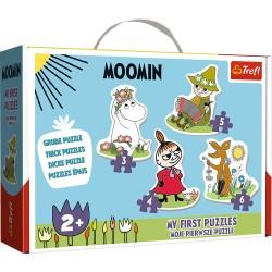 TREFL Puzzle Układanka Moje Pierwsze Puzzle Moomin WESOŁE MUMINKI 36094