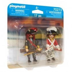 PLAYMOBIL 70273 Duo Pack PIRAT I OFICER ROTROCK