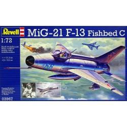 Revell - 03967 - Model do Sklejania - Skala 1:72 - Samolot Radziecki - MiG 21 F-13 FISHBED C