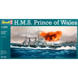 Revell - 05135 - Model do Sklejania - Skala 1:1200 - Okręt Brytyjski - H.M.S. PRINCE OF WALES