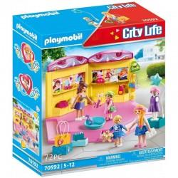 PLAYMOBIL City Life 70592 MODNY BUTIK Z ODZIEŻĄ DLA DZIECI