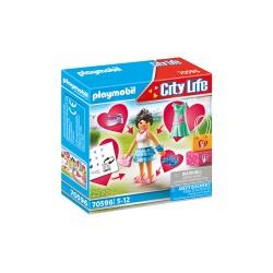 PLAYMOBIL City Life 70596 FASHION GIRL