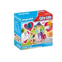 PLAYMOBIL City Life 70595 Nastolatka z Pieskiem