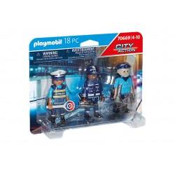 PLAYMOBIL City Action 70669 Zestaw Figurek POLICJANCI