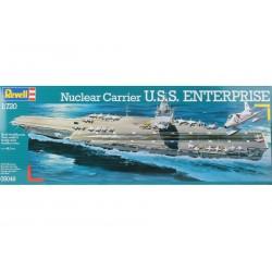 Revell - 05046 - Model do Sklejania - Skala 1:720 - Okręt Amerykański - Nuclear Carrier U.S.S. ENTERPRISE