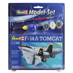 Revell - 04021 - Model do Sklejania - Skala 1:144 - Model Set - Samolot - F-14A TOMCAT