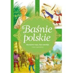 Skrzat Książeczki dla Dzieci BAŚNIE POLSKIE Maciejowe Wąsy, Kije Samobije i Inne Opowieści 5804