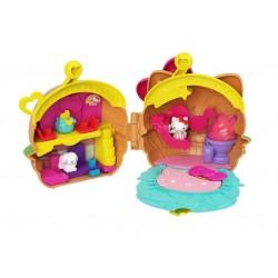 Mattel HELLO KITTY Mini Przygoda Zestaw do Zabawy HAMBURGER GVB28