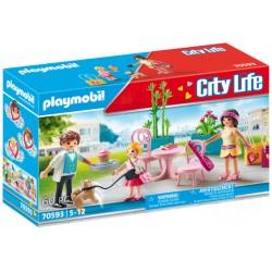 PLAYMOBIL City Life 70593 Modna Kawiarnia