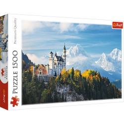TREFL Puzzle Układanka 1500 Elementów Premium Quality ALPY BAWARSKIE 26133