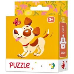 DODO Puzzle Układanka 16 Elementów Puzzle Dla Maluszków PIESEK 300111