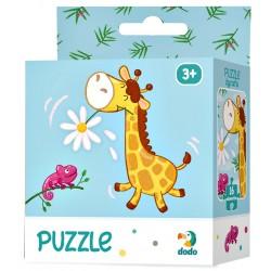 DODO Puzzle Układanka 16 Elementów Puzzle Dla Maluszków ŻYRAFA 300163