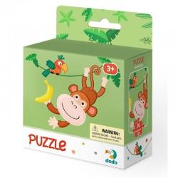 DODO Puzzle Układanka 16 Elementów Puzzle Dla Maluszków MAŁPKA 300164