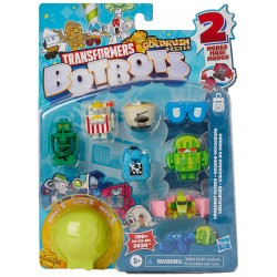 Hasbro TRANSFORMERS BotBots Zestaw 8 Figurek Seria 5 Zestaw 3 E8476