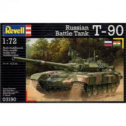 Revell - 03190 - Model do Sklejania - Skala 1:72 - Czołg Rosyjski - T-90