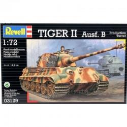 Revell - 03129 - Model do Sklejania - Skala 1:72 - Czołg Niemiecki - TIGER II Ausf. B