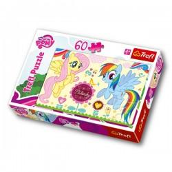 Trefl - 17240 - Puzzle 60 - My Little Pony Wesołe Miasteczko