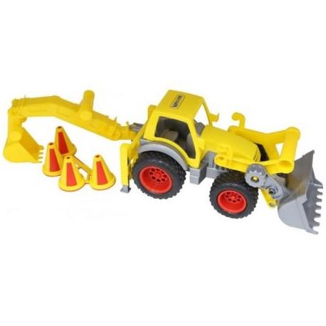 WADER POLESIE Traktor-ładowarka z Łyżką 0377