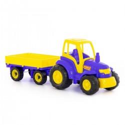 WADER POLESIE Traktor z Przyczepą 0551
