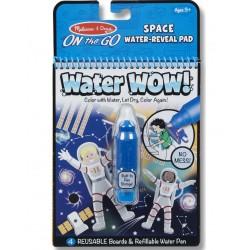 Melissa&Doug On The Go WATER WOW Malowanie Wodą Wielokrotnego Użytku KOSMOS 40178