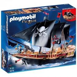 PLAYMOBIL 6678 PIRACI Piracki Statek Bojowy