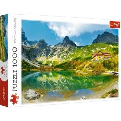 TREFL Puzzle 1000 Elementów Premium Quality SCHRONISKO NAD ZIELONYM STAWEM TATRY SŁOWACJA 10606