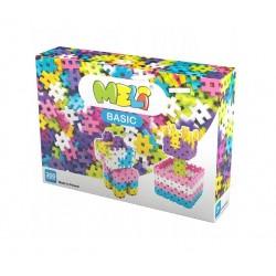 MELI BASIC Klocki Wafle Zestaw Konstrukcyjny dla Dziewczynek 300 Sztuk 50025