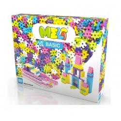 MELI BASIC Klocki Wafle Zestaw Konstrukcyjny dla Dziewczynek 1000 Sztuk 50031