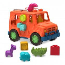 B.TOYS Ciężarówka Safari SORTER KSZTAŁTÓW 1029