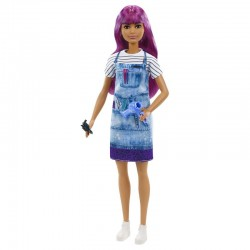 Mattel Barbie You Can Be Anything LALKA FRYZJERKA GTW36