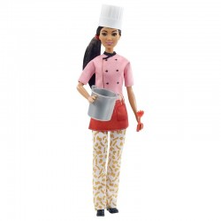 Mattel Barbie You Can Be Anything LALKA SZEF KUCHNI GTW38