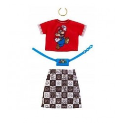 MATTEL Ubranka dla Lalki Barbie + Akcesoria SUPER MARIO GHX96