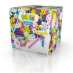 MELI BASIC Klocki Wafle Zestaw Konstrukcyjny dla Dziewczynek 600 Sztuk 50070