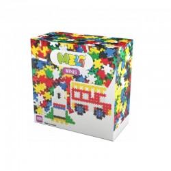 MELI BASIC Klocki Mini Wafle Zestaw Konstrukcyjny dla Chłopców 400 Sztuk 50301