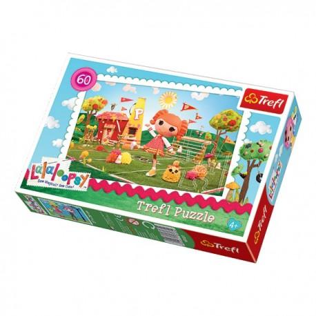 Trefl - 17235 - Puzzle 60 - Lalaloopsy Lala Cheerleaderka
